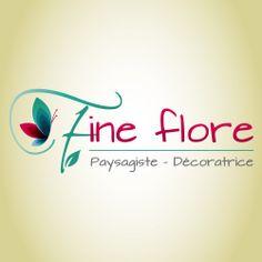 Création du Logotype Fine Flore