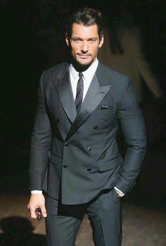 david gandy in perfect suit!