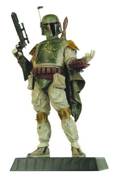 Star Wars Gentle Giant 12.5 Inch Deluxe Statue Boba Fett by Gentle Giant Ltd.. $248.95. Limited Numbered Edition. Boba Fett has an attitude problem. The bounty hunter doesnt like to play by the rules. But Gentle Giant plays by the rules because it was authorized to use onlocation work and original scan data from the Lucasfilm Archives to create this 12 1/2 tall Boba Fett Statue! This limited edition statue is for those Star Wars fans who cheer for the bad guys! W...