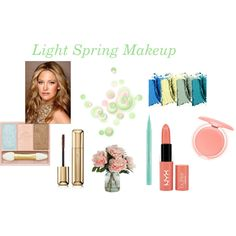 """""""Light Spring Makeup"""" by expressingyourtruth on Polyvore"""