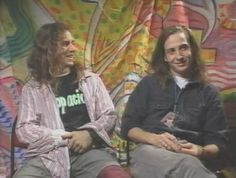 Eddie Vedder, Stone Gossard | Pearl Jam     Back in the day