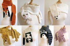 crochet scarfs for kids