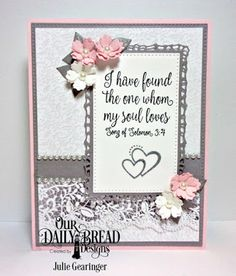 Our Daily Bread Designs Stamp Set:  Happily Ever After, Custom Dies: Lavish Layers, Pierced Rectangles, Bitty Blossoms, Paper Collection: Wedding Wishes