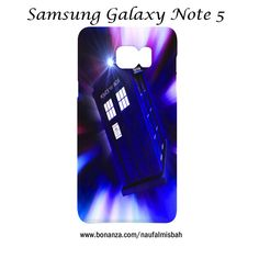 Dr Who Tardis Art Samsung Galaxy Note 5 Case Cover Wrap Around