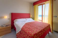 Camera con VIsta Mare.  Room with Sea View  #Grottammare