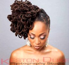 loc hair jewelry - Google Search