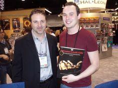 Winter NAMM 2013, Anaheim, CA: Jeff Schroedl with Chris Woods.