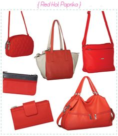 Paprika Red Trend. One of the Pierre Cardin's colour for the Summer 2014 is the bold orange-red paprika! The striking, rich tone can transform any look to a super modern, chic look.