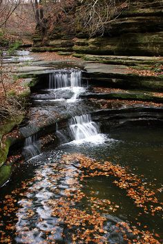 Starved Rock State Park - Utica, IL. Can't wait to go here this fall with my husband for a little hiking adventure!
