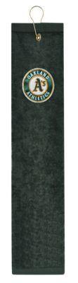 McArthur Sports MLB Embroidered Tri-Fold Golf Towel - Oakland Athletics