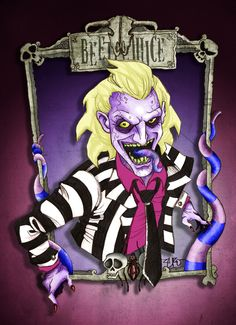Tim Burton series: Beetlejuice by katanaZero.deviantart.com on @deviantART