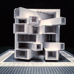 Brutalist Buildings Made From Lego Bricks – iGNANT.de