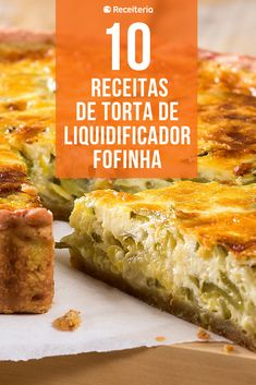 10 receitas de torta de liquidificador fofinha para comer a qualquer hora Sin Gluten, Cupcakes, Good Pizza, Tasty Dishes, Baked Potato, Carne, Banana Bread, Bacon, Turkey