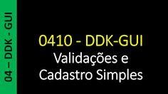 Totvs - Datasul - Treinamento Online (Gratuito): Datasul - 0410 - DDK-GUI - Validações e Cadastro S...