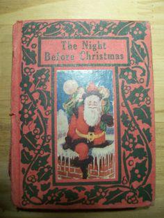 """1905 Edition """"The Night Before Christmas"""" Intro by L. Christmas Books, Christmas Images, Vintage Christmas, The Night Before Christmas, Antiques, People, Antiquities, Nightmare Before Christmas, Antique"""
