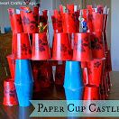 Paper Cup Castle  - Pinned by @PediaStaff – Please Visit  ht.ly/63sNt for all our pediatric therapy pins