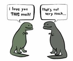 Hahaha.  I think I have a new obsession with t-rexes...