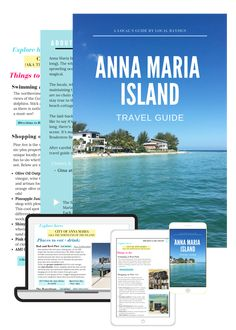 22 Things You Must Do on Anna Maria Island, Florida Florida Vacation, Florida Travel, Florida Home, Anna Maria Island, Vacation Destinations, Travel Guide, Family Vacations, Small Towns, Road Trip