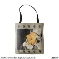 Fish Under Glass Tote Bag