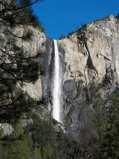 Bridal Veil Falls - Yosemite National Park 2012