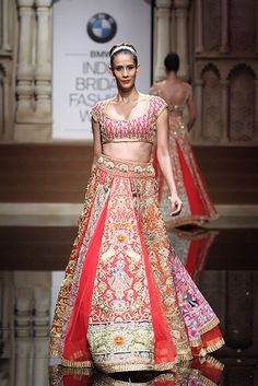 Abu Jani and Sandeep Khosla | BMW India Bridal Fashion Week 2015 #PM #Indiancouture