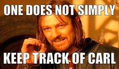 One does not simply keep track of Carl | How to Throw the Ultimate Walking Dead Party!