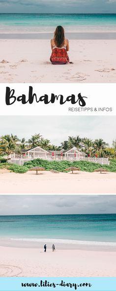 Traumreise Bahamas: Nur einen Katzensprung von Florida in den USA entfernt, findet ihr die traumhaften Inseln der Bahamas. Türkisblaues Wasser, schwimmende Schweine, schneeweiße Strände, Kokosnusspalmen ohne Ende. Wer auf den Bahamas Urlaub macht, reist ins das Paradies. Wir haben euch die wichtigsten Tipps für die Reiseplanung auf die Bahamas und die Inseln Abaco, Nassau, No Name Cay, Elbow Cay und den kleinen Ort Hope Town, den Trip zum Strand Pink Sands auf Harbour Island mitgebracht.