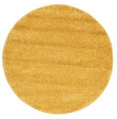 Shaggy Solana - Gelb Teppich  Ø150 für 74,- EUR