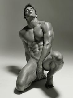 Nude Male Black and White