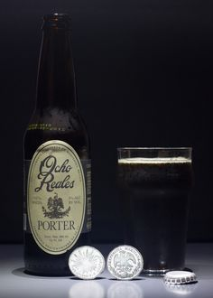 "Ocho Reales Porter - Ocho Reales Porter (Sierra Madre Brewing - Mexique) -  grâce à ""Saveur Box"" -  (Spanish dollar = Real de a ocho)"