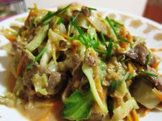 Mongolian Beef With Cabbage for HCG Diet - Powered by @ultimaterecipe