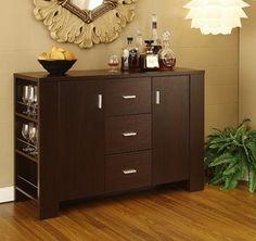 Mueble trinchador para comedor ikea modelo bjursta hogar for Muebles flat pack