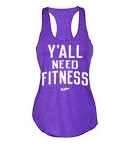 Y'all Need Fitness Women's Tank Top