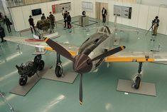 川崎重工業の創立120周年記念展「川崎重工創立120周年記念展―世界最速にかけた誇り高き情熱―」で展示される飛燕                                                                                                                                                                                 もっと見る