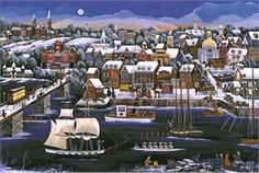 """Carol Dyer Limited Edition Print:""""Port Of Georgetown"""""""
