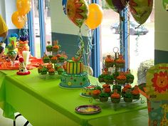 Kal-el's First Birthday Party- Baby Animal theme!