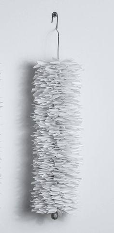 Liz Jaff | Plomb, 2014 | paper, wire, lead