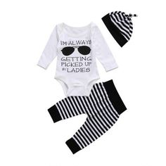 b6c6ae2fb3407 ... Buy Quality boy girl clothes directly from China girl baby clothes set  Suppliers: Baby Boys Girls Clothes Set Glasses Tops Romper +Striped Long  Pants ...