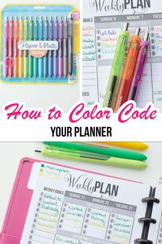 Planner Tips, Budget Planner, Life Planner, Happy Planner, Binder Planner, Planner Supplies, Travel Planner, Color Coding Planner, Passion Planner