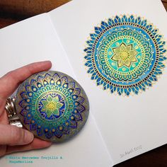 Mandalas: From my journal to stone