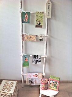 Decoratieve ladder voor allerlei ideetjes