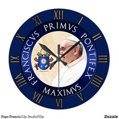 Pope Francis I Wall Clocks | 60 OFF Clocks | Up to 50% OFF everything else | Use code CRAZYWEEKEND during checkout. Offer is valid through November 29, 2015 11:59PM PT.