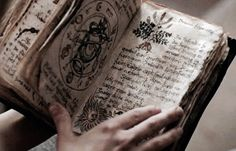 """Radley,"" James said. His voice was stern. Radley didn't look up from the spellbook. He continued to thumb through the pages."
