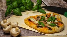 Mini pizze na zaczynie poolish