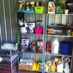 Tool Shed Organisation