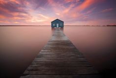 Crawley bay boat shed, Perth , Western Australia.  Photography by Marc Russo