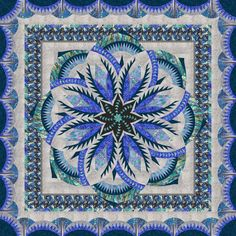 Check out this original color-way designed by search.simon h. Sign up on www.quiltster.com to create your own.