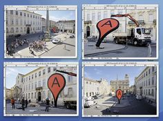 "Aram Bartholl, 'Map' (public installation), at Rencontre Arles ""From Here On"", 2011"