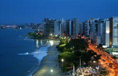 Ponto turístico de Fortaleza.