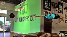 Nerf Blasters Battle | Dude Perfect Party Idea!!!